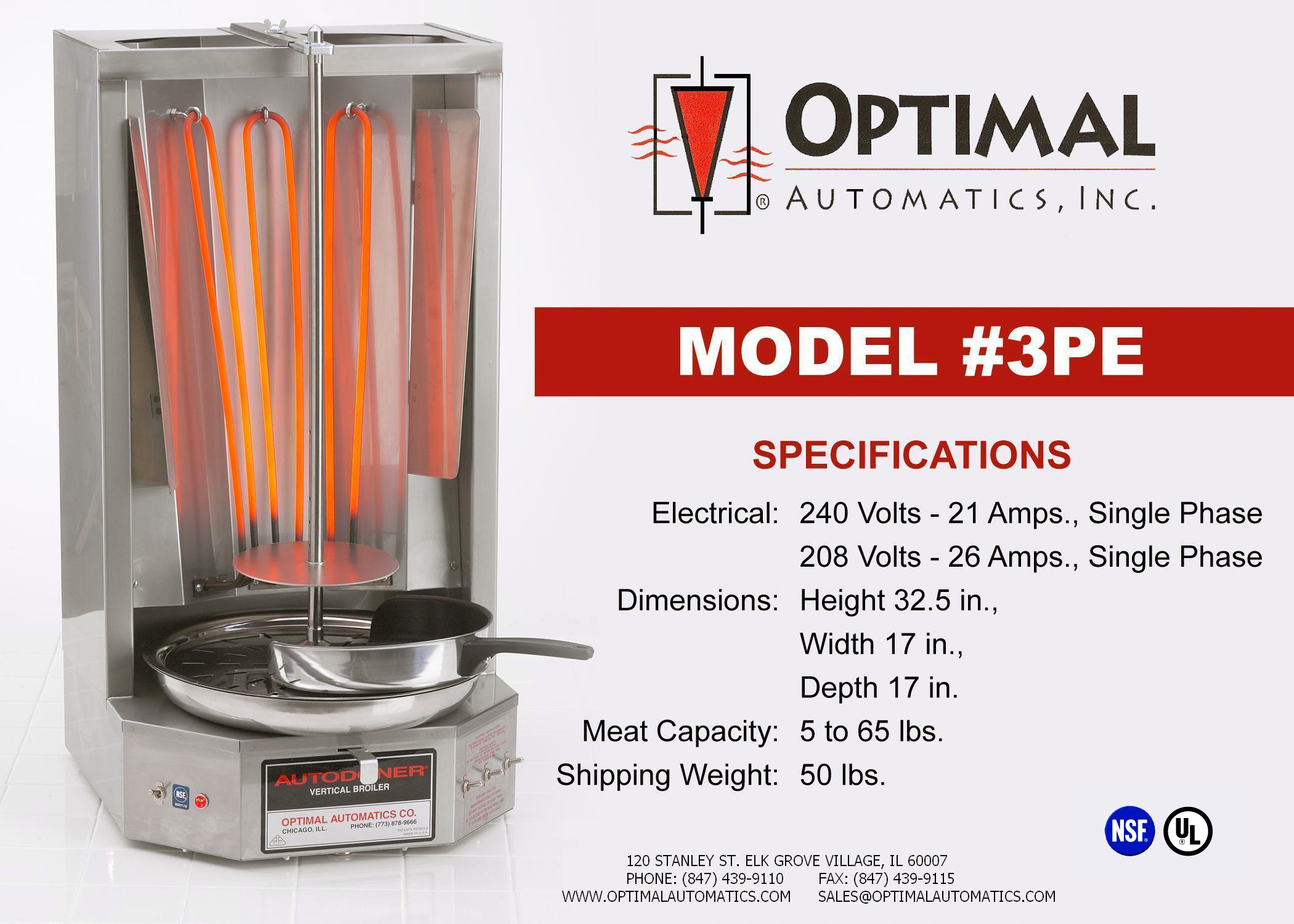 3pe Autodoner From Optimal Automatics